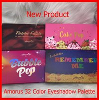 Макияж глаз Amorus Eyeshadow Limited Edition Запомнить меня Cake Pop Bubble Pop Femme Fatale 32 Цвет Eyeshadow Palette Блеск Матовый Eye Shadow