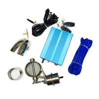 Válvula de escape de controle de vácuo de aço inoxidável de alta qualidade / conjunto de recorte com bomba de vácuo Interruptor de controlador remoto sem fio