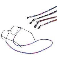 Óculos de óculos coloridos misturados óculos de óculos de óculos de sol Correntes de corda de pescoço corda cordão titular de cordão acessórios de moda ajustável