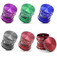 4PC Aluminum Alloy Grinder 63mMM 2. 48 Inches Metal Grinder H...