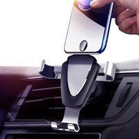 Gravity-Auto-Halter für Telefon in Auto Entlüfter Clip Berg No Magnetic Handy-Halter-Handy-Standplatz-Unterstützung für iPhone 11 heiß