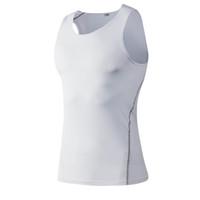 Yuerlian Kompressionsweste Tops Stringer Bodybuilding Fitness GYM Weste Tees Unterhemden Männer Sport Running Yoga Shirt Männer