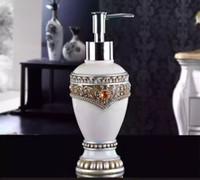Di lusso in resina dispenser di sapone liquido Sapone Dispenser Sapone Liquido Dspenser Bagno Set S129