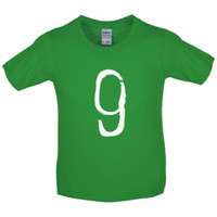 Paint Brush 9- Kids   Childrens T- Shirt - 7 Colours - 9th Bir...