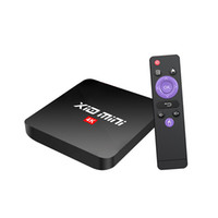 X10 Mini Android 9.0 TV Box Quad Cœur 2GB 16 Go RK3328A 2.4G WIFI Smart Media Player vs R69 MXQ Pro