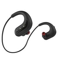 S12 Bluetooth Auricolare IPX8 Impermeabile Sport Sport Auricolare senza fili Auricolari wireless Stereo HiFi Bass Cursali incorporati Collano a memoria 8G