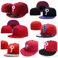 2019 di marca estate stile nuova moda lettera Phillies P berretti da baseball uomini donne hiphop Casquette misura i cappelli