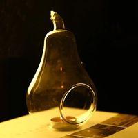 الشموع والزجاج والكريستال شنقا شمعة حامل جولة زجاج كرات مصنع الهواء فقاعة الكريستال الرئيسية الزفاف حفل عشاء ديكور LXL725Q