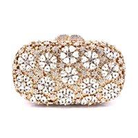 Вечерние сумки Xiyuan Женские Gold Green Diamond Bag Сумка Сцепления Кристаллы Кристаллы Клатч Свадебные Кошельки Дамы Пустые Услуги Болсас