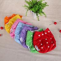 Детские подгузники тканевые сетки пеленки подгузника новорожденного высококачественного регулируемого многоразового моющегося WY1206