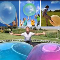 جديد مدهش فقاعة الكرة مضحك لعبة المياه مليئة tpr بالون للأطفال الكبار في فقاعة فقاعة الكرة نفخ لعب حزب زينة