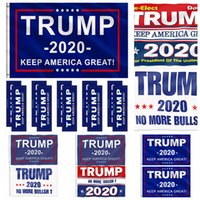 Donald Trump Flag Multi Styles 2020 Trump Flag Keep America Great Donald For President Campaign Banner Garden Flags RRA2024