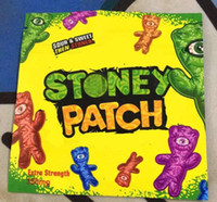 2019 New Stoney Patch Gummies Smell Proof Bags Extra Strength 350mg