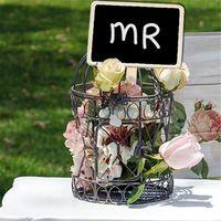 مصغرة خشبية السبورة الكلمات علامات النباتات حديقة الزهور البيت الكلمات تسميات حزب الديكور الحرف VT0430