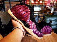 New Penny Hardaway Foams Eggplant Purple Copper Mens Sports ...
