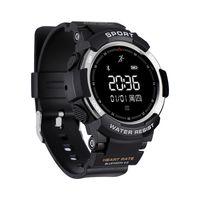 F6 Smart Watch IP68 wasserdichte Bluetooth Dynamic Smart Armband Herzfrequenzmesser Fitness Tracker Smart-Armbanduhr für Android iPhone Phone