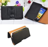 Leather Pouch Holster Belt Clip Case For Myphone Hammer Ener...