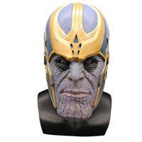 Avengers 4 Endgame Thanos Mask Cosplay Helmet Marvel Superhe...