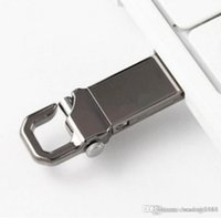 Anahtarlık Yüksek Hızlı Memory Stick 32GB ~ 64GB ile Yeni Tasarım Gerçek Kapasite USB 2.0 Metal USB Flash Sürücü