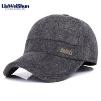 2018 Winter Tweed Striped Velvet Thicken Baseball Cap Hats, B...