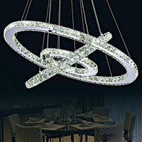 Hot Selling Hot sale Crystal Diamond Ring LED Crystal Chande...