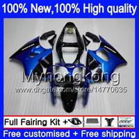 Lichaam voor Kawasaki ZX600 600CC ZZR600 2005 2006 2007 2008 Carrosserie 219MY.20 Heet Blauw ZX600CC ZZR-600 ZZR 600 05 06 07 08 Volle kuip
