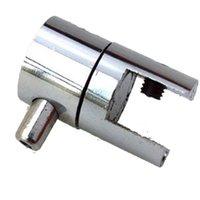 (Pack / 10units) Kits de luminaires suspendus Pince pour câble, suspension de câble, pince latérale pour bord supérieur pour systèmes d'affichage suspendus (côté unique)
