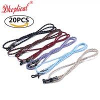 안경 체인, 도매 선글라스 코드, 푸 재료 유리 안경 무료 배송 6 색 무료 배송 20pcs A004 안경 액세서리