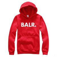 Stylish Hiphop Men BALR. Terry Hoodies Male Autumn Spring Fa...