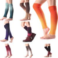 Las mujeres forman los calcetines invierno caliente calentadores de la pierna de punto scoks cargadores del ganchillo calcetines largos clásicos de tejer calentador de la pierna nueva llegada envío de la gota