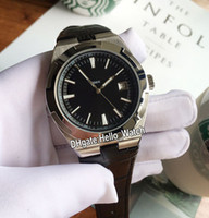 Специальная цена Новые зарубежные 4500V / 110A 4500V черный циферблат автоматические мужские часы стальные чехол черный кожаный ремешок спортивные ворота часы Hello_Watch