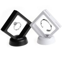 Suspended Floating Display Case Jewellery Coins Gems Holder ...