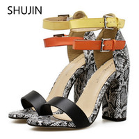 Women Sandals Special Offer Summer High Heels Fashion Color ...