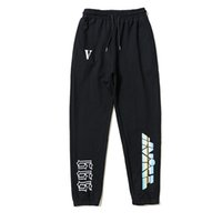 Fashion Brand Hip hop brand Vlone Print Mens casual Joggers ...