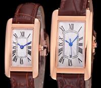 Orologio di lusso donna moda rosa cassa in oro rosa quadrante bianco orologio al quarzo movimento abito orologi cinturino in pelle 08-3