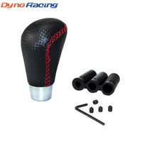 자동차 높은 품질 JDM 수동 탄소 섬유 유형 쉬프터 시프트 노브 커버 스티치 기어 시프트 노브 TT100881