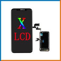 OEM OLED Экран Для iPhone X 1: 1 Отлично Класса A +++ ЖК-Дисплей Сенсорный Экран Digitizer Полная Замена Сборки с Бесплатным DHL