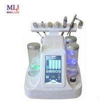 ¡Gran venta! 6 EN UNO Profesional hidra de oxígeno máquina de limpieza profunda facial cuidado de la piel con retroalimentación