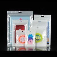 Bolsos de plástico de alta calidad para teléfono celular PP Bolsas Ziplock Soporte para teléfono celular Soporte para bolsas Bolsas de almacenamiento de alimentos Accesorios Embalaje Sellado de bolsas