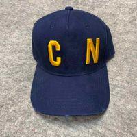 Nuevo casquillo de diseño de lujo Papá Papá gorras de béisbol para hombres y mujeres marcas famosas algodón ajustable deporte golf gorro curvado 10045