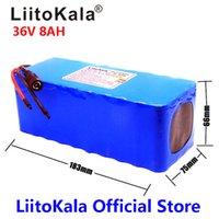 Liitokala 36V 8AH 500W High PowerCapacity 42V 18650 Lithium-Batterie-Pack Ebike-Elektroauto-Fahrradmotor-Roller mit BMS