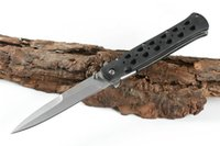 Cold Steel 26S 440 di tasca piegante di campeggio di sopravvivenza della lama di Natale lame del regalo coltello 1pcs ADNB