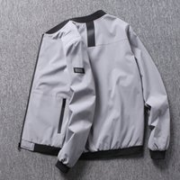 Mens Jacket Baseball Uniform Coat High Quality Thick & Thin  Motorcycle  Pilot Air Men Bomber Jacket-Size:M~8XL