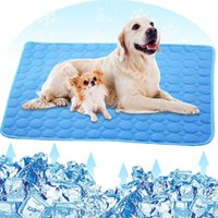 Portable cane Mat L'estate di raffreddamento Cooling Pad Pad Mat Sleeping raffreddamento Mats per le forniture di Cani Gatti Estate Pet Mats Pet