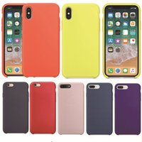 Original Anti- knock Soft TPU Silicone Case For iPhone 7 8 Pl...