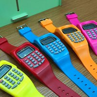 Calculating Digital Calculator With LED Watch Function Casua...