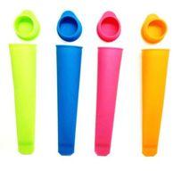 20 cm machine à glaçons silicone moule moule de glace en silicone Push Up Ice Cream moule Jelly Lolly