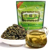 imballaggio striscia 250g cinese organico di alta qualità Biluochun tè verde sanità extra Tè New Spring Green Tea sigillamento