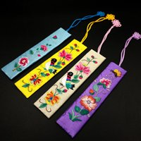 Embroidery Bookmark Traditional Chinese Gift Style Fabric Cl...