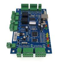 Wiegand regolatore blu, TCP IP due Access Controller Porta, suport la funzione multi-accesso, allarme antincendio etc.sn:B02